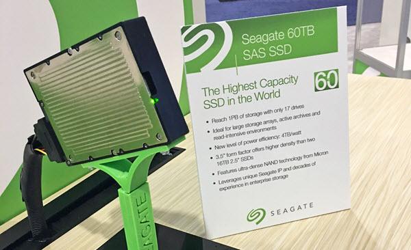 Seagate - 60TB SAS SSD