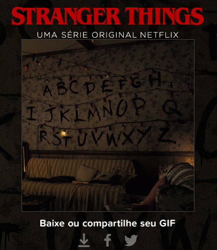 Stranger Things - GIF animado