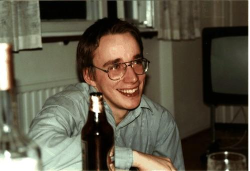 Linus Torvalds, cerca de 1991