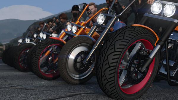 GTA Online Motoqueiros