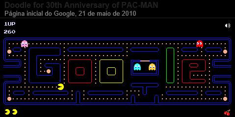 Pac-Man - Google Doodle