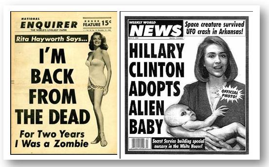 """Hillary Clinton Adota Bebê Alien (Foto Oficial)"""