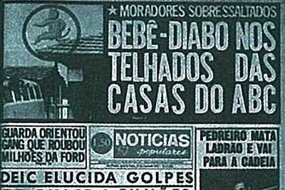 """""""Bebê-Diabo Nos Telhados Das Casas do ABC"""""""