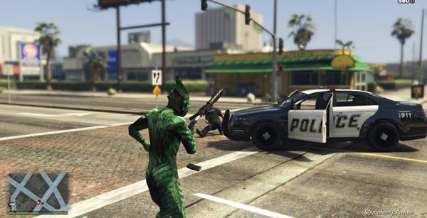 GTA V - Mod - Duende Verde
