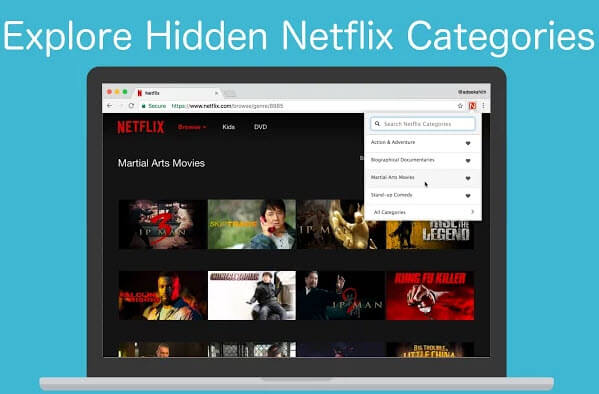 Netflix Categories