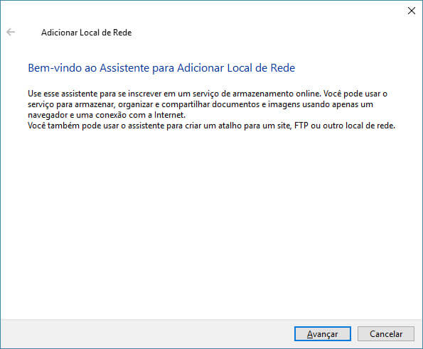 Windows - Acessar FTP sem software