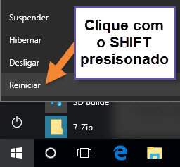 Windows 10 - Reiniciar
