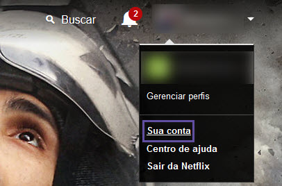Netflix - Solicitar conteúdo