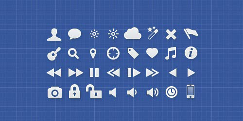 Tabs - Interface Icons for iOS & Designers