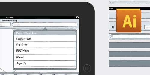 iPad Sketch Elements